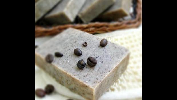 Kávové mýdlo - obrázek