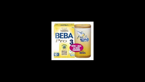 Nestlé BEBA nyní s praktickou dózou zdarma  - obrázek