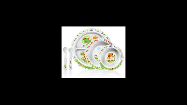 Nová jídelní souprava od Aventu pomáhá dětem spokojeně jíst  - obrázek