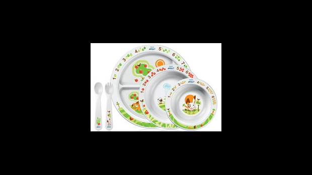 Podpora krmení zábavným učením - jídelní souprava od Aventu pomáhá dětem spokojeně jíst  - obrázek