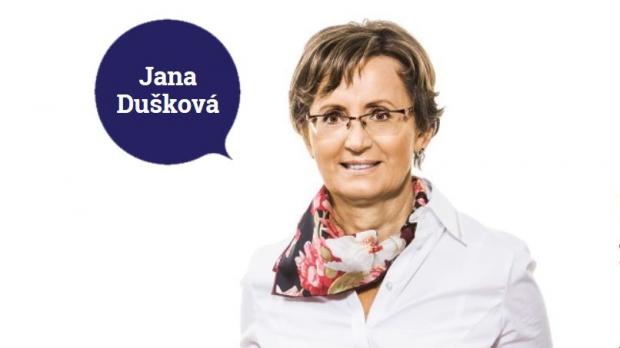 Podpořte profesorku Janu Duškovou ve druhém kole senátních voleb na Praze 10 - obrázek