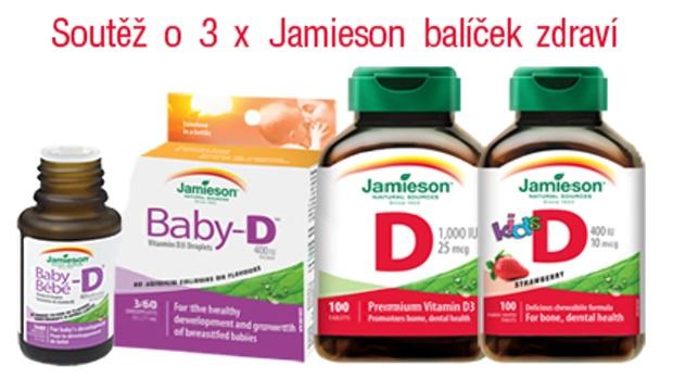 Soutěž o 3 x Jamieson balíček zdraví  - obrázek