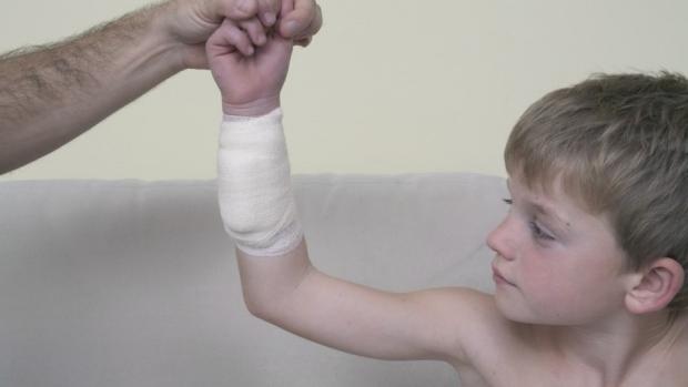 První pomoc při krvácení - obrázek