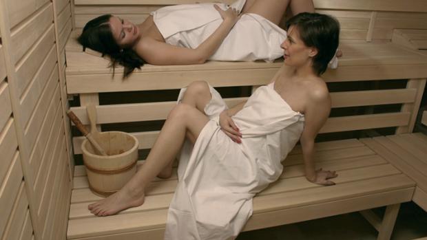 Sauna a těhotenství - obrázek