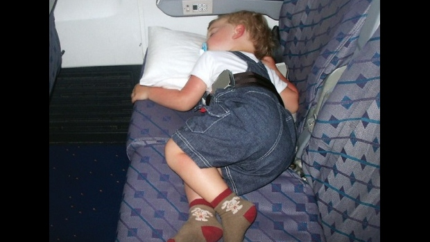 Děti v letecké dopravě - obrázek