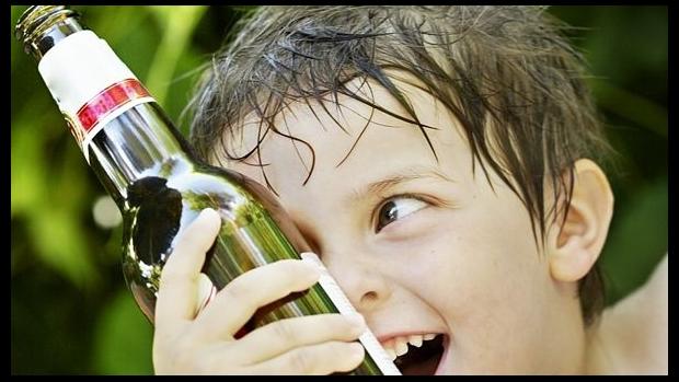 Pivo a děti - obrázek