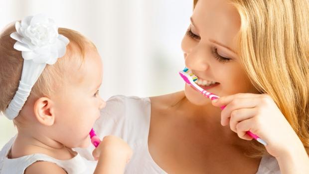 Technika čištění zubů - obrázek