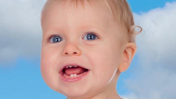 Bolestivé prořezávání zoubků - obrázek