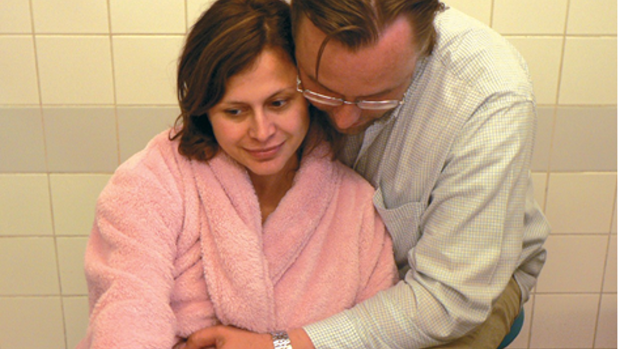 Subarachnoidální analgezie - obrázek