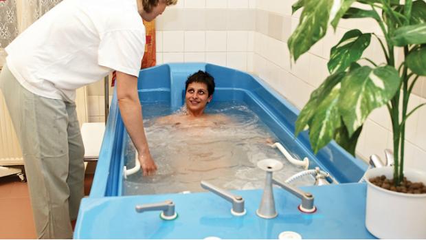 Použití vody u porodu - obrázek