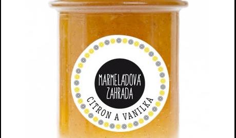 Marmeládová zahrada - Citron a vanilka - obrázek