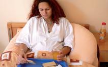 Jídlo a pití během porodu - obrázek