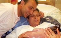 Porodní mechanismus - obrázek