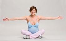 Speciální cvičení pro těhotné - obrázek