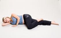 Hypotenzní syndrom v těhotenství - syndrom dolní duté žíly - obrázek