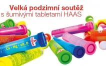 Velká podzimní soutěž: vyhrajte sportovní vybavení a zásoby šumivých tablet HAAS! - obrázek