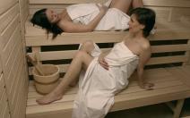 Finsko a porody v sauně - obrázek