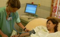Tlumení  porodních bolestí - obrázek